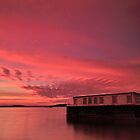 Under A Twilight Sky Poole harbour. by delros