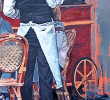 French Waiter II by Claire McCall