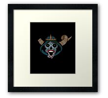 Lich Sugar skull Framed Print