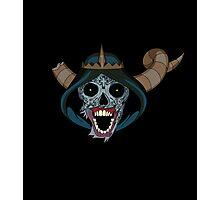 Lich Sugar skull Photographic Print
