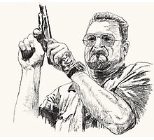 Angry Walter Photographic Print