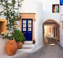 Alleys of Kythira by Hercules Milas