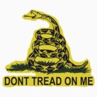 Dont Tread On Me Flag - Gun Rights Freedom Free Speech by sturgils