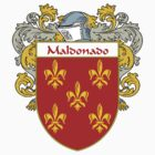 Maldanado Coat of Arms/Family Crest by William Martin