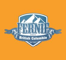 Fernie British Columbia Ski Resorts by CarbonClothing