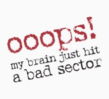 Ooops! Bad Sector by e2productions