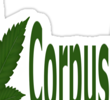 0141 I Love Corpus Christi Sticker