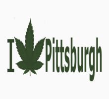 0142 I Love Pittsburgh by Ganjastan