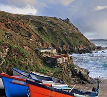 Boats on the slipway by Judi Lion