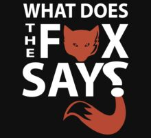 what does fox say? by mike desolunk