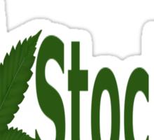 0145 I Love Stockton  Sticker