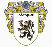 Marquez Coat of Arms/Family Crest by William Martin