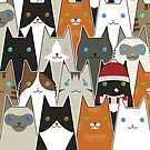 Cats, cats, cats by psygon