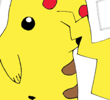 Freakachu Sticker