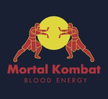 Mortal Kombat - Blood Energy by Sebastienn Truehart