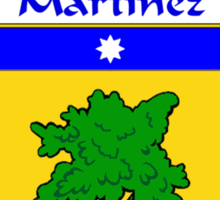 Martinez Coat of Arms/Family Crest Sticker