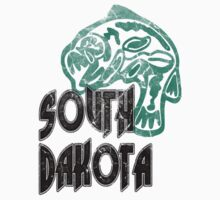 FISH SOUTH DAKOTA VINTAGE LOGO by phnordstrm