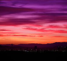 Las Vegas Sunrise by Fern Blacker
