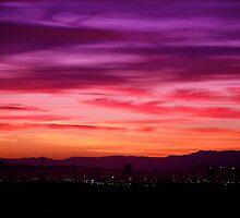 Las Vegas Sunrise by fernblacker
