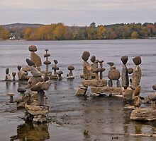Rock Sculptures in the Ottawa RIver, Ottawa, ON by Shulie1