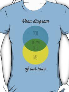 Venn diagram of our lives T-Shirt