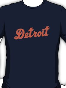 "Detroit Tigers ""Detroit"" T-Shirt"
