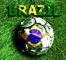 Old football (Brazil) by sebmcnulty