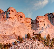 Mount Rushmore National Memorial by Joshua McDonough