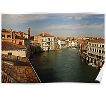 Venetian View of the Grand Canal Poster