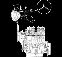 Mercedes Benz Engine Typ 170D by David Karkashadze