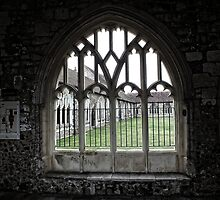Chichester Cathedral Window by Ludwig Wagner