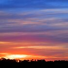 One Tree Hill Sunset, South Australia by RedNomadOZ