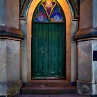 The old church door by collpics