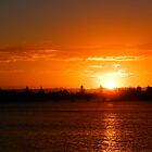 Richmond River Sunset, New South Wales by RedNomadOZ