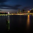 Brisbane at Dusk by D Byrne