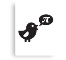 Pi Bird Canvas Print