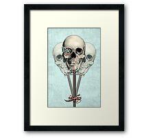 Eternally Sweet Skull Lollipops  Framed Print