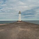 Sodus Point Lighthouse, New York by KathleenRinker