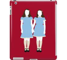 The Grady Girls - The Shining iPad Case/Skin