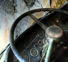 14.10.2013: Cockpit of Old Finnish Vanaja Truck by Petri Volanen