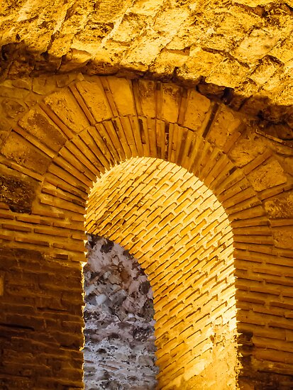 Golden Roman Arch by Robert Kelch, M.D.