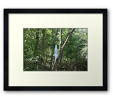 Ghost Trail Framed Print