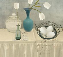 The Blue Vase by Sarah Jarrett