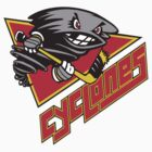 Cincinnati Cyclones hockey logos T-Shirts ,Stickers by boomer321sasha