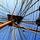 HMS Warrior Mast and Rigging by thermosoflask