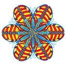 Butterfly Mandala Print by TheMandalaLady