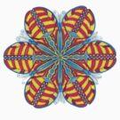Butterfly Mandala T-Shirt by TheMandalaLady
