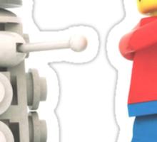 Lego warrior vs Dalek Sticker