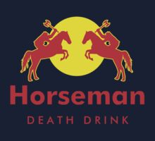 Horseman - Death Drink by KillerBrick Tees