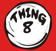 Thing 8 T-Shirts & Hoodies by mike desolunk
